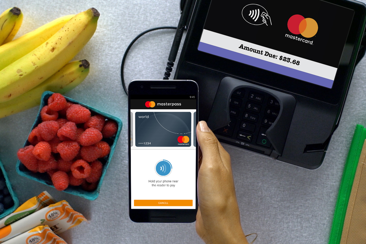 Payment with smart phone app